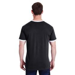 Bella + Canvas B8102 Ladies Sheer Jersey Short-Sleeve 2-in-1 T-Shirt