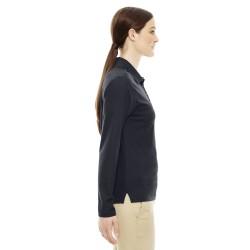 Devon & Jones D113W Ladies' Pima Pique Short-Sleeve Tipped Polo
