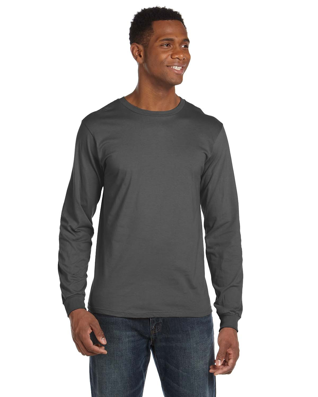 Gildan g241 ultra cotton 6 oz long sleeve pocket t shirt for Long sleeve pocket shirts