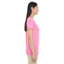 Bella + Canvas 1005 Ladies' Baby Rib Short-Sleeve V-Neck T-Shirt
