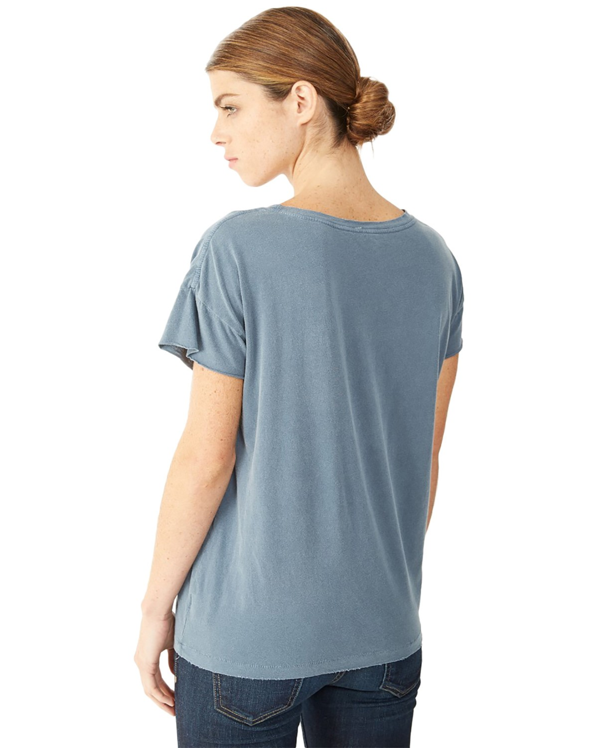 Buy gildan g500vl heavy cotton ladies 39 5 3 oz v neck t for Thick v neck t shirts