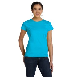 Anvil 379 Ladies Ringspun Junior Fit T-Shirt