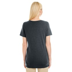 Anvil 392A Ladies Ringspun Sheer V-Neck T-Shirt