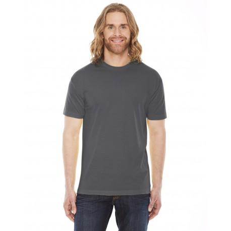 BB401 American Apparel BB401 Unisex Poly-Cotton USA Made Crewneck T-Shirt ASPHALT