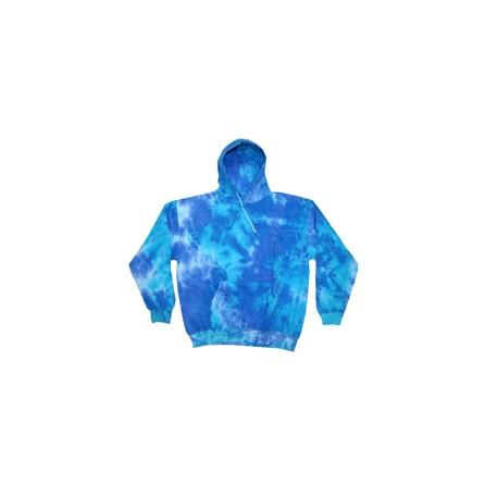 CD877 Tie-Dye CD877 Adult 8.5 oz. Tie-Dyed Pullover Hood SHERBERT