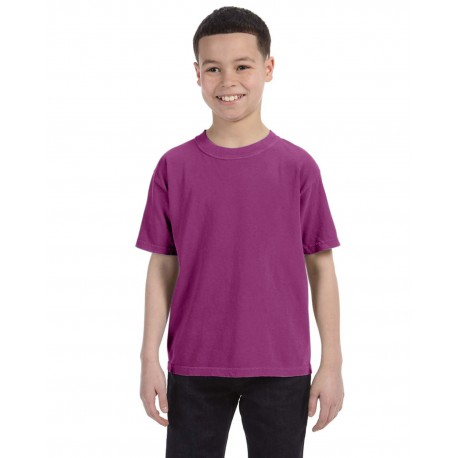 C9018 Comfort Colors C9018 Youth Midweight RS T-Shirt BOYSENBERRY