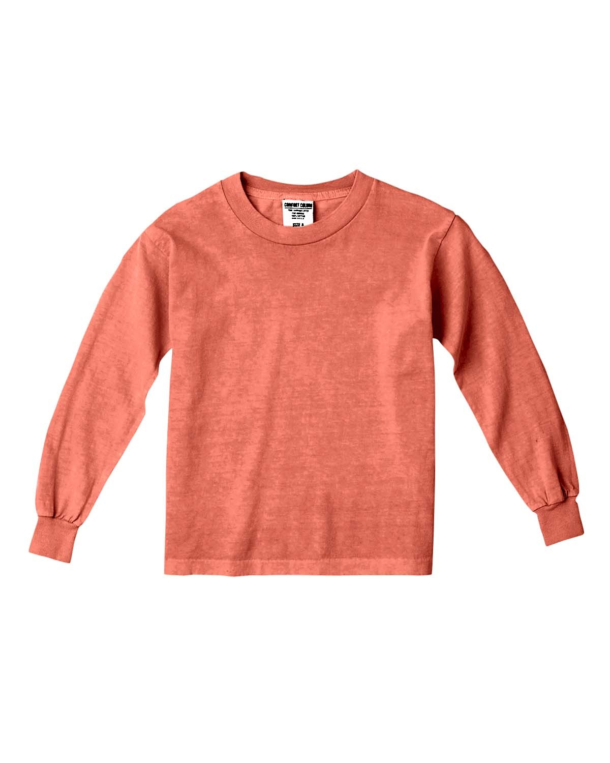 C3483 Comfort Colors Drop Ship BRIGHT SALMON