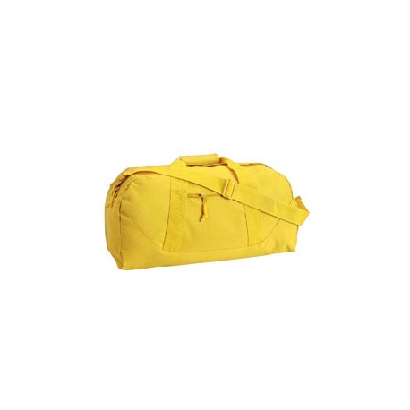 8806 Liberty Bags 8806 Game Day Large Square Duffel BRIGHT YELLOW