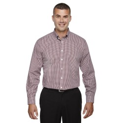 Devon & Jones D640 Men's Crown Woven Collection Gingham Check