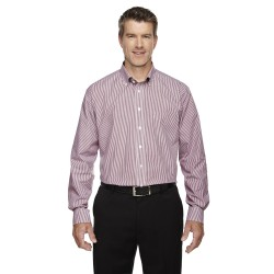Devon & Jones D645 Men's Crown Woven Collection Banker Stripe