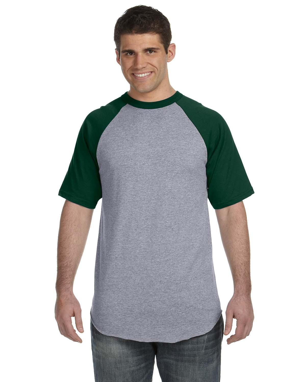 423 Augusta Sportswear ATH HTHR/DK GRN