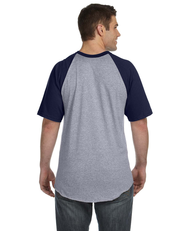 423 Augusta Sportswear ATH HTHR/NAVY