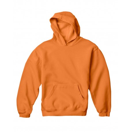 C8755 Comfort Colors C8755 Youth 10 oz. Garment-Dyed Hooded Sweatshirt BURNT ORANGE