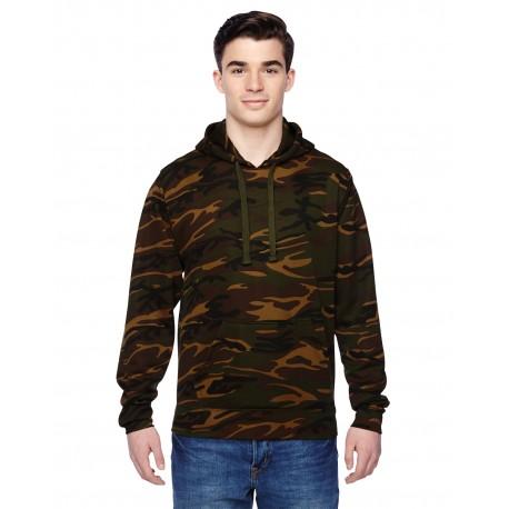 JA8615 J America JA8615 Adult Tailgate Poly Fleece Hood CAMOUFLAGE
