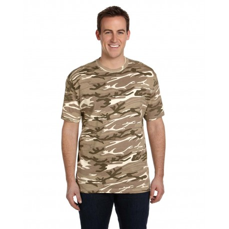 939 Anvil 939 Midweight Camouflage T-Shirt CAMOUFLAGE SAND