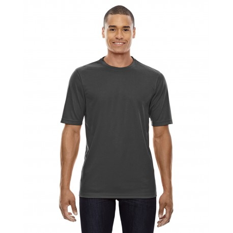 88182 Core 365 88182 Men's Pace Performance Pique Crewneck CARBON 456