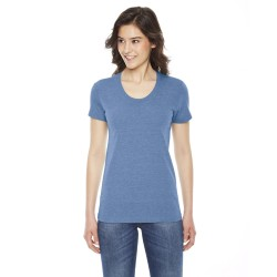 American Apparel TR301W Ladies' Triblend Short-Sleeve Track T-Shirt