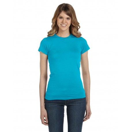 379 Anvil 379 Ladies' Lightweight Fitted T-Shirt CARIBBEAN BLUE