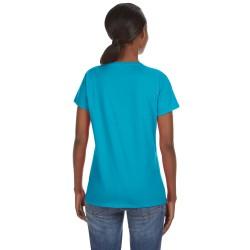 Russell Athletic FS8EFX Ladies Tech Fleece Quarter-Zip Pullover Hood