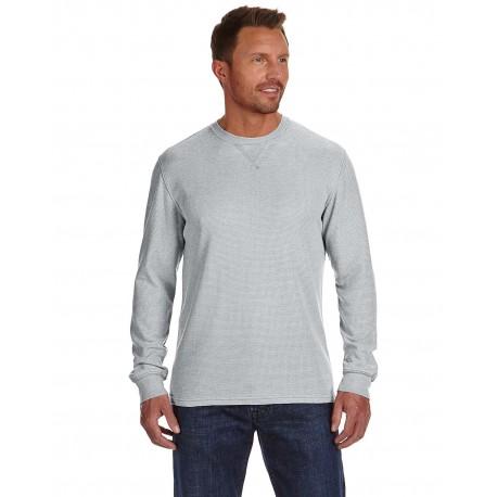 JA8241 J America JA8241 Men's Vintage Zen Thermal Long-Sleeve T-Shirt CEMENT