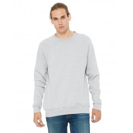 3901 Bella + Canvas 3901 Unisex Sponge Fleece Crewneck Sweatshirt HEATHER FOREST