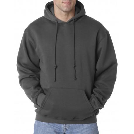 BA960 Bayside BA960 Adult Hooded Pullover Fleece CHARCOAL
