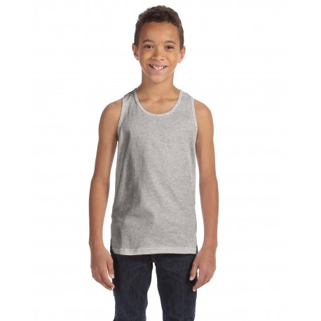 3480Y Bella + Canvas 3480Y Youth Jersey Tank ATHLETIC HEATHER