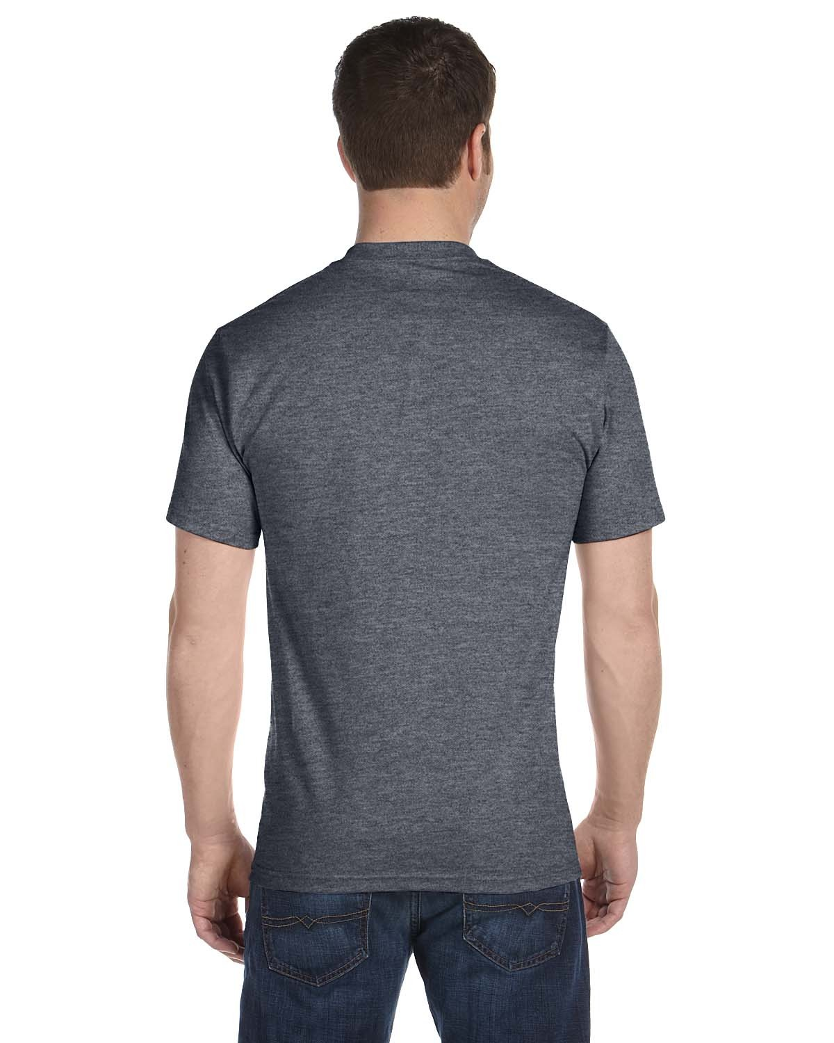 5180 Hanes CHARCOAL HEATHER