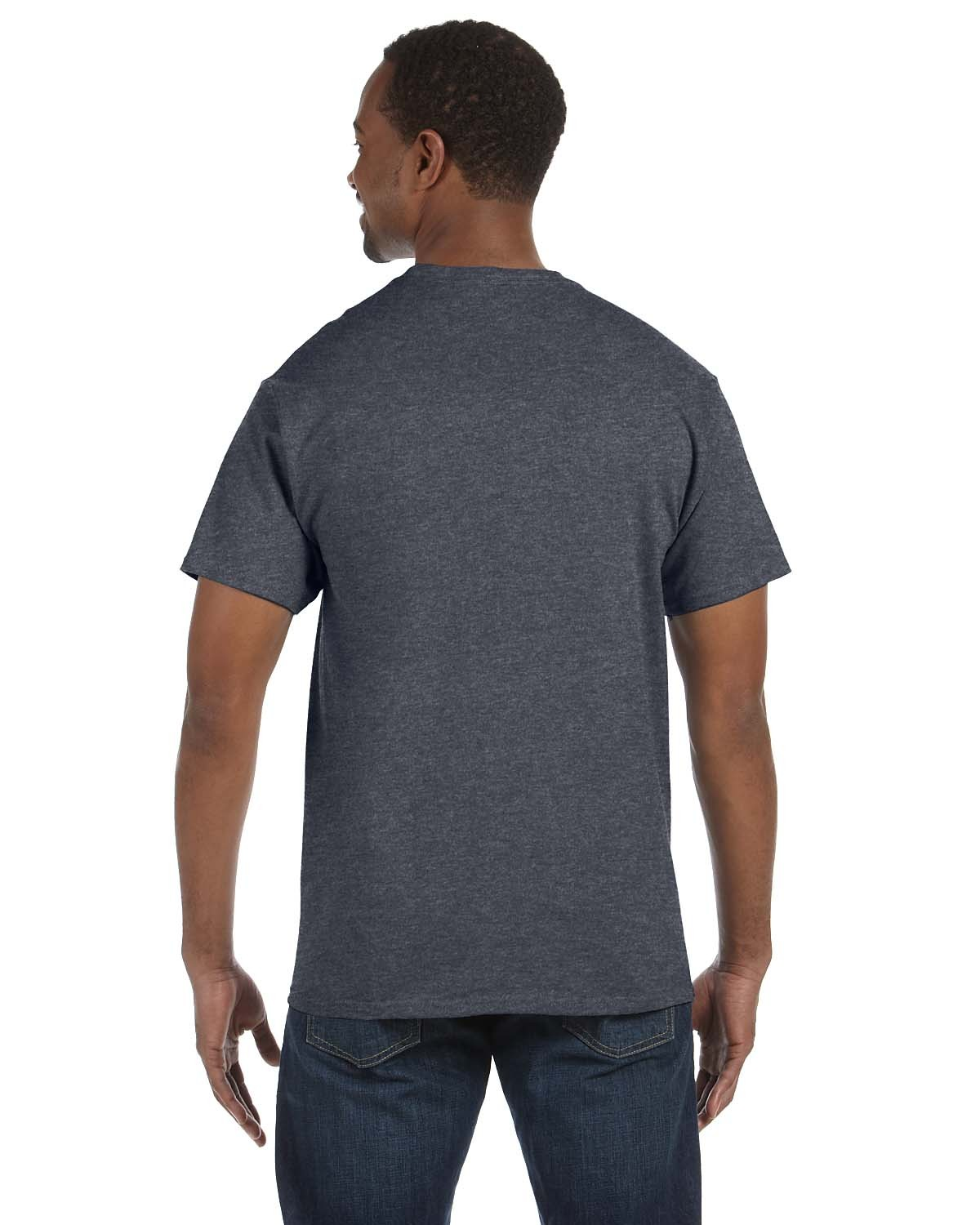5250T Hanes CHARCOAL HEATHER