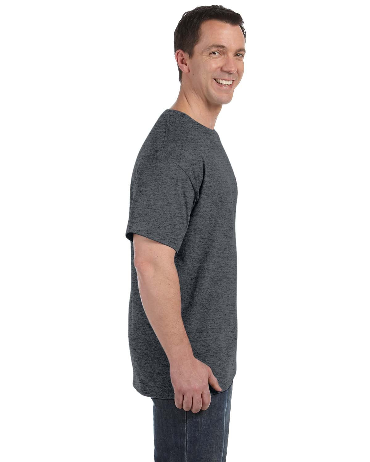 H5590 Hanes CHARCOAL HEATHER