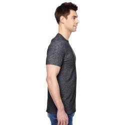 LAT L-3587 Ladies Combed Ringspun Jersey V-Neck T-Shirt