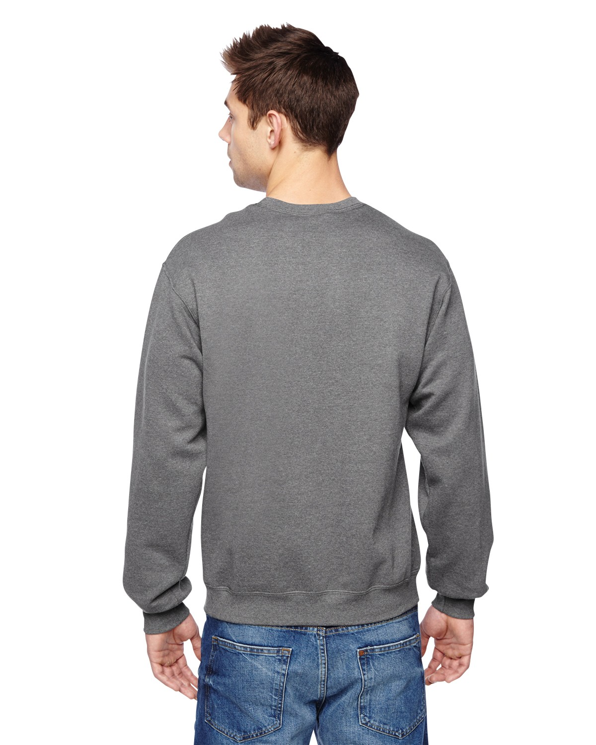SF72R Fruit of the Loom CHARCOAL HEATHER