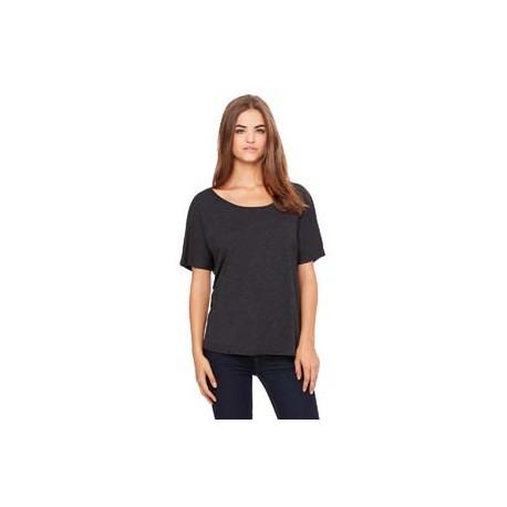 8816 Bella + Canvas 8816 Ladies' Slouchy T-Shirt CHARCOAL/BL TRB