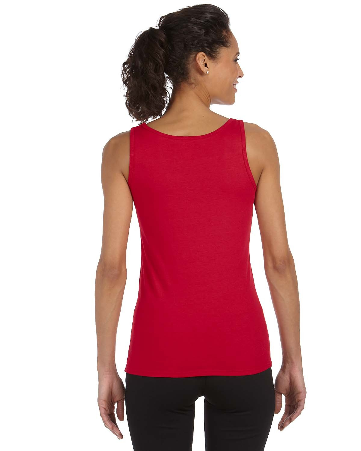 2d484da8 Gildan G642L Ladies' Softstyle 4.5 oz. Fitted Tank
