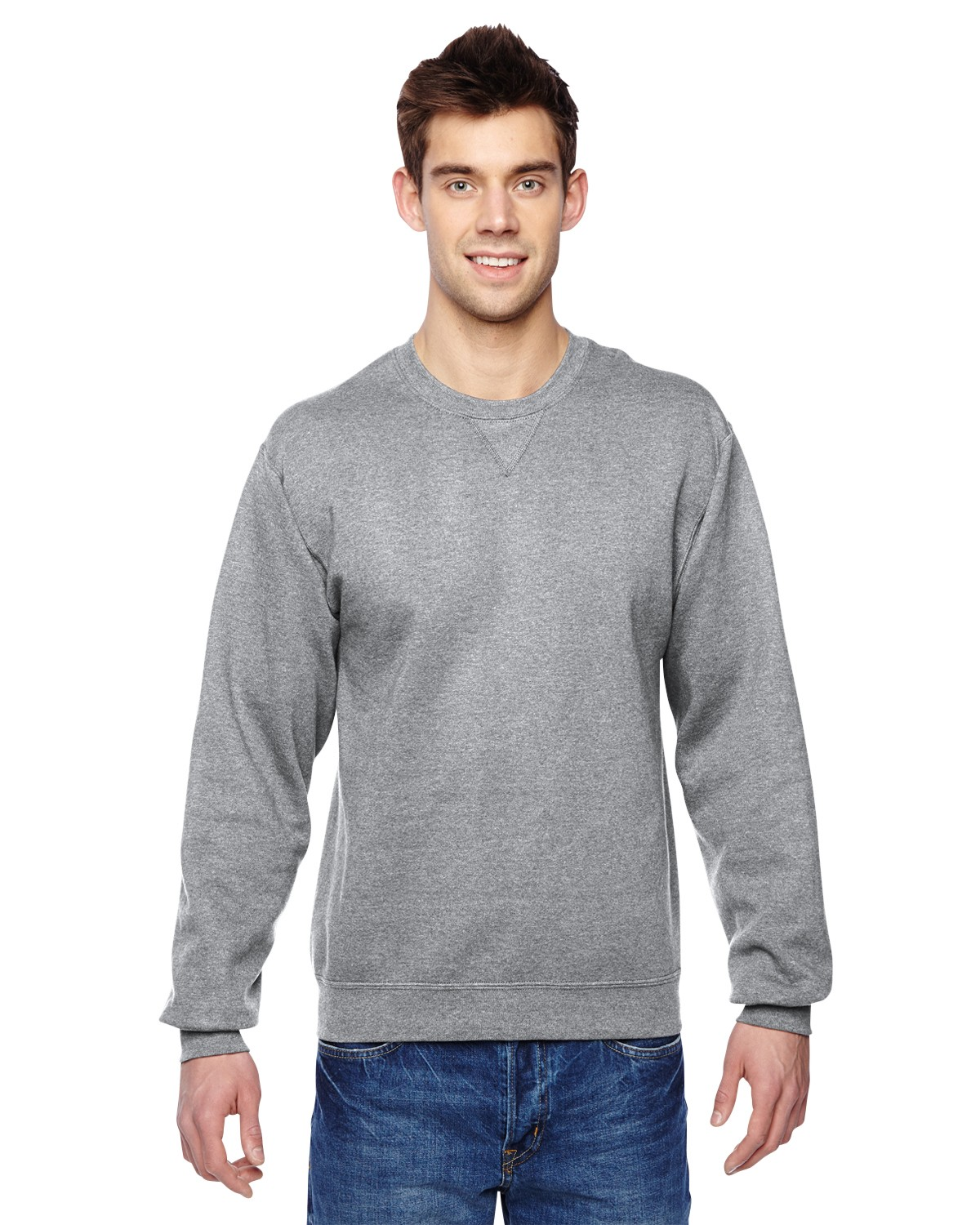 SF72R Fruit of the Loom ATHLETIC HEATHER