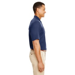 Harriton M500S Mens Easy Blend Short-Sleeve Twill Shirt with Stain-Release