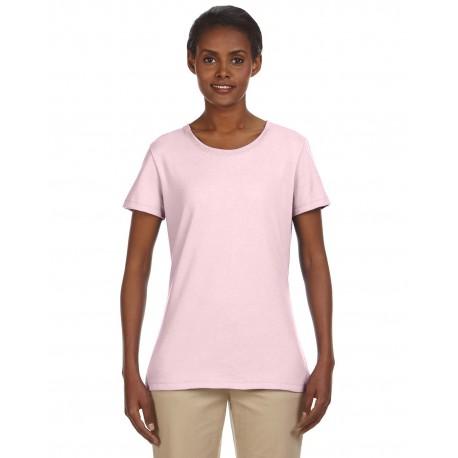 29WR Jerzees 29WR Ladies' 5.6 oz. DRI-POWER ACTIVE T-Shirt CLASSIC PINK