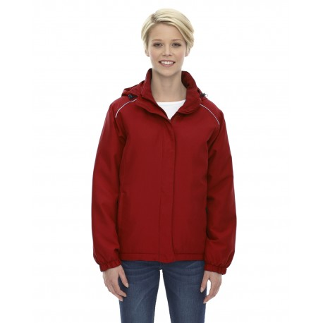 78189 Core 365 78189 Ladies' Brisk Insulated Jacket CLASSIC RED 850