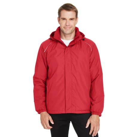 88189 Core 365 88189 Men's Brisk Insulated Jacket CLASSIC RED 850