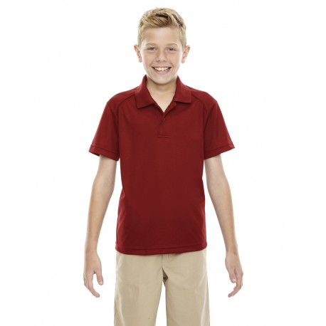 65108 Extreme 65108 Youth Eperformance Shield Snag Protection Short-Sleeve Polo CLASSIC RED 850
