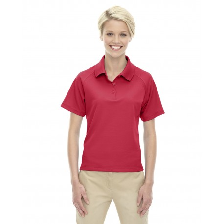 75056 Extreme 75056 Ladies' Eperformance Ottoman Textured Polo CLASSIC RED 850