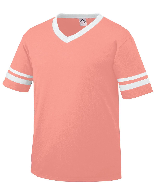 360 Augusta Sportswear CORAL/WHITE