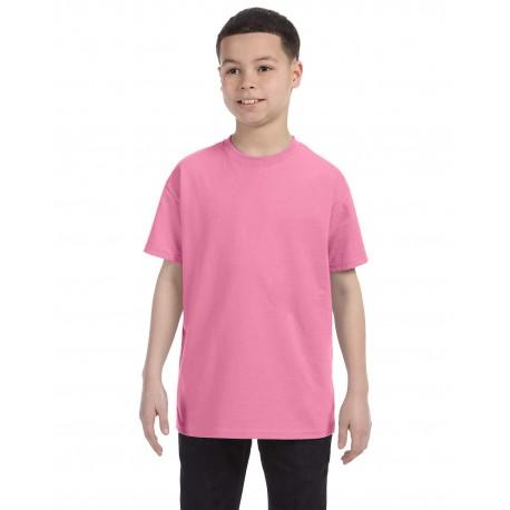 29B Jerzees 29B Youth 5.6 oz. DRI-POWER ACTIVE T-Shirt AZALEA