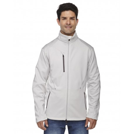 88649 North End 88649 Men's Escape Bonded Fleece Jacket CRYSTL QRTZ 695