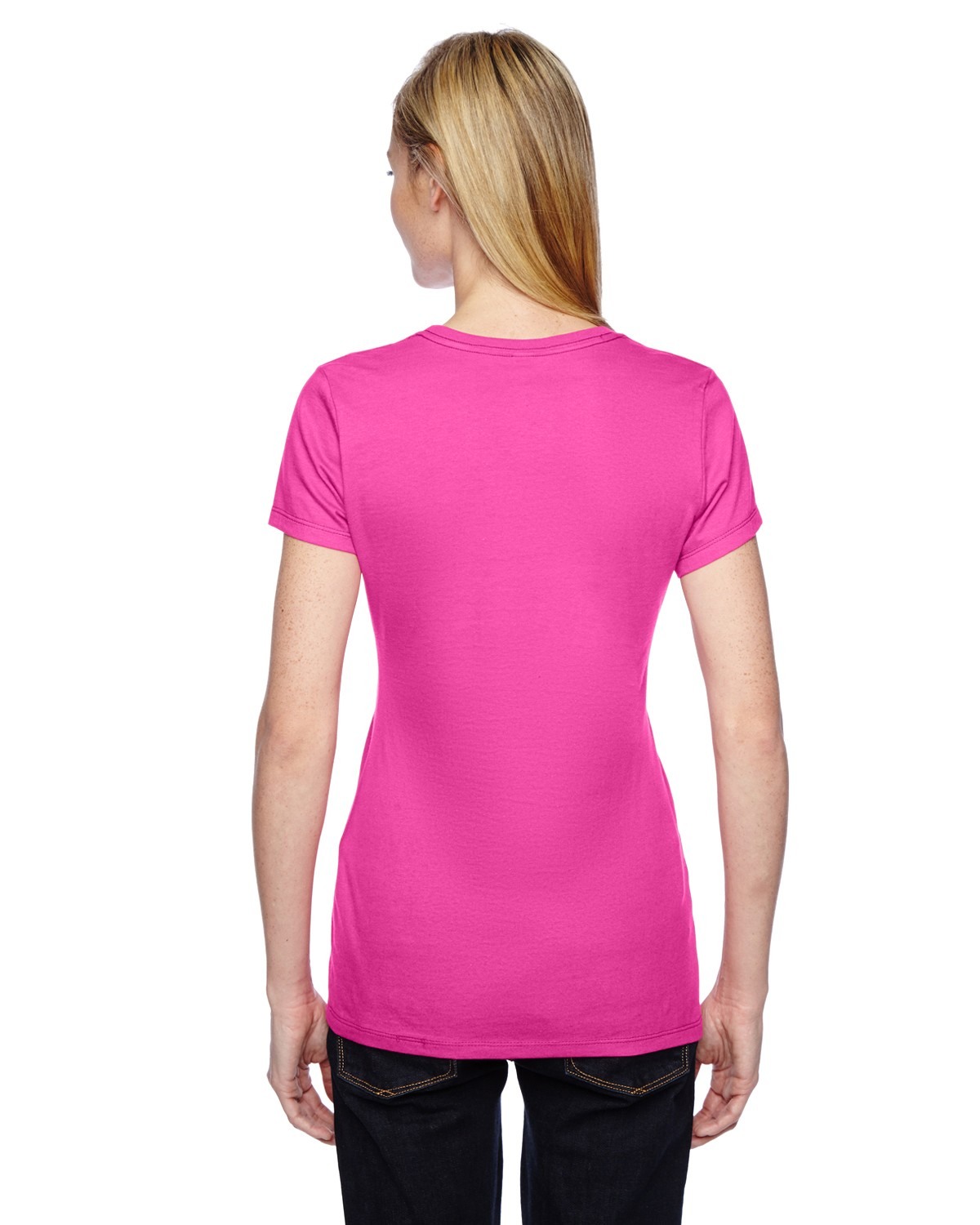 SSFJR Fruit of the Loom CYBER PINK