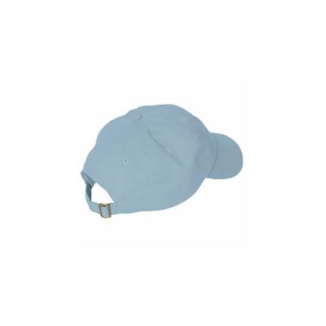 ACEB101 Adams ACEB101 Brushed Cotton Six-Panel Twill Cap BABL BLUE