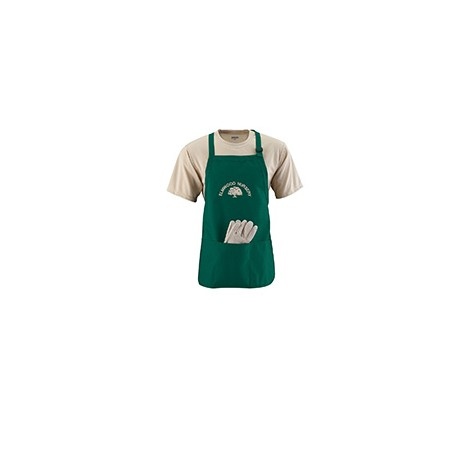4250 Augusta Sportswear 4250 Medium Length Apron DARK GREEN