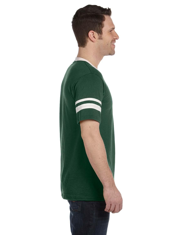 360 Augusta Sportswear DARK GREEN/WHT