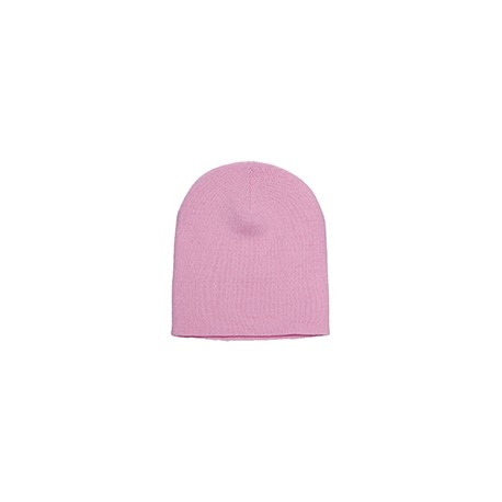 1500 Yupoong 1500 Adult Knit Beanie BABY PINK