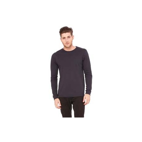 3501 Bella + Canvas 3501 Unisex Jersey Long-Sleeve T-Shirt DARK GREY